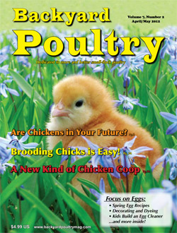 Charmant Backyard Poultry Magazine