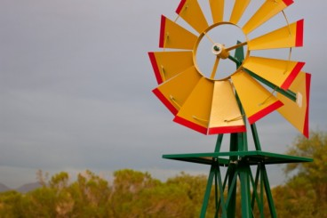 Front Property Windmill
