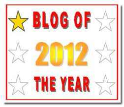 2012 Blog of the Year