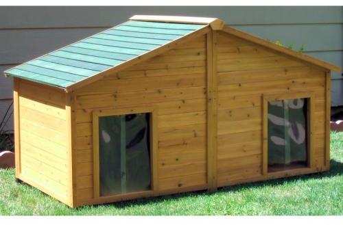 One of many pet shelters from lowes.com