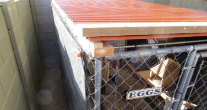 Chicken Coop Roof 2 12-3-13