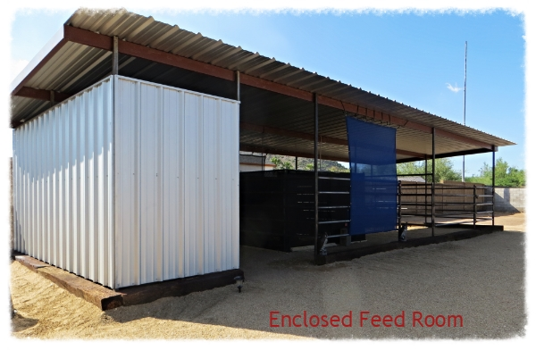 Enclosed Feed Room 9-10-14