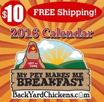 BYC Calendar 2016