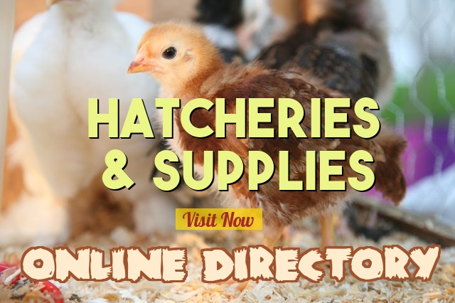 Hatcheries and Supplies Index